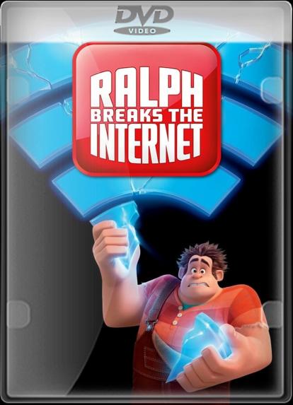 Pelicula Ralph Rompe Internet (2018) DVD5 LATINO/INGLES Online imagen