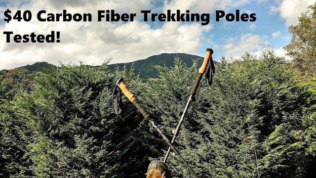 Gear Review: Quality Carbon Fiber Trekking Poles for $40