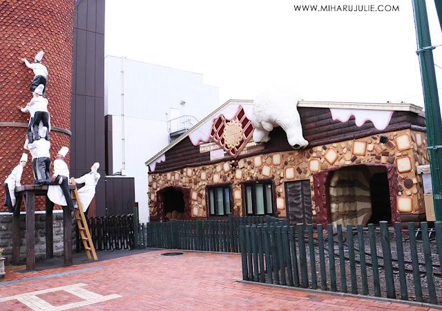 Ishiya Chocolate Factory Sapporo Hokkaido