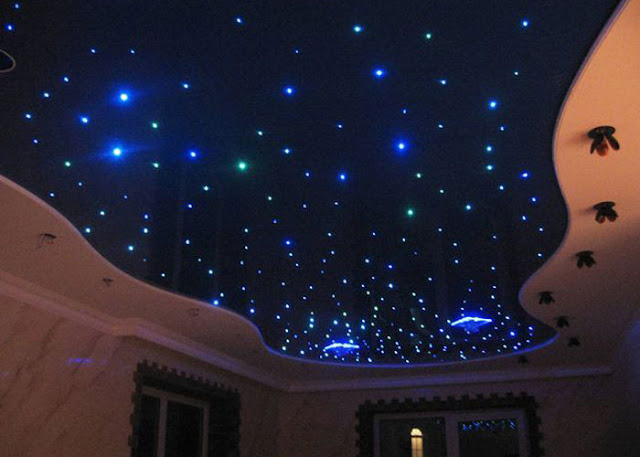 الدهانات الفسفورية تجعل منزلك جزء من السماء عندما يحل الظلام
