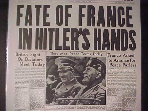 18 June 1940 worldwartwo.filminspector.com Hitler Mussolini