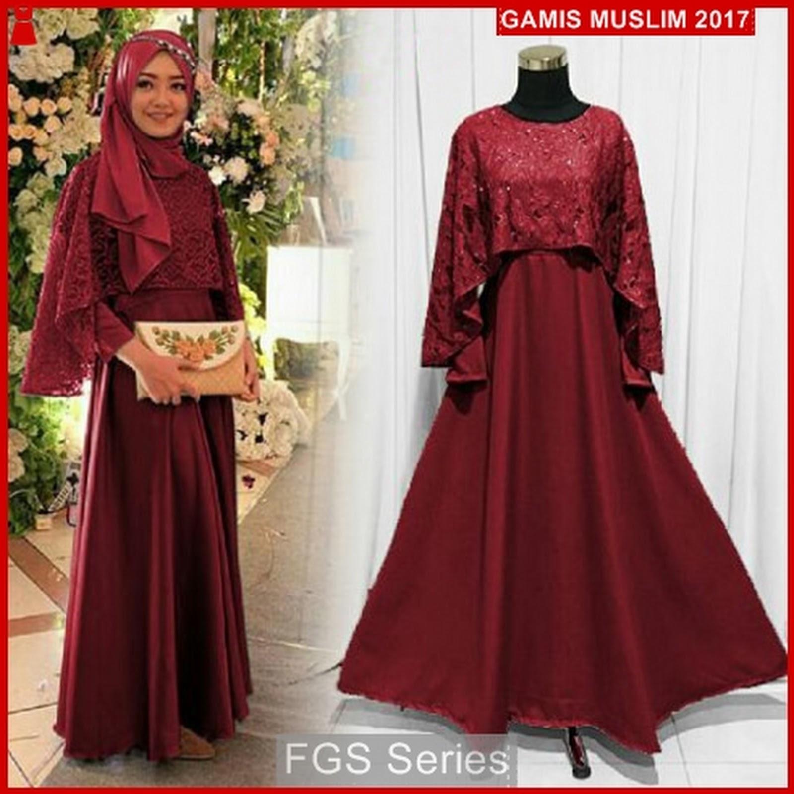 Baju Gamis Terbaru Untuk Acara Pesta Model Brokat 2017 - 2018. Gamis Muslim  Brokat Terbaru b0fd91f537