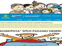 """""""Bangkitnya"""" Situs PADAMU NEGERI Tahun Ajaran 2015/2016"""