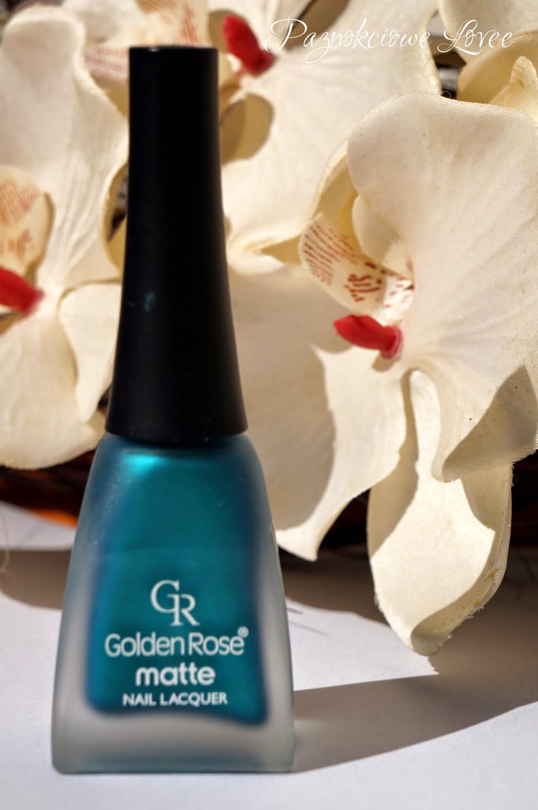 Golden Rose matte #15, czyli słów kilka o macie