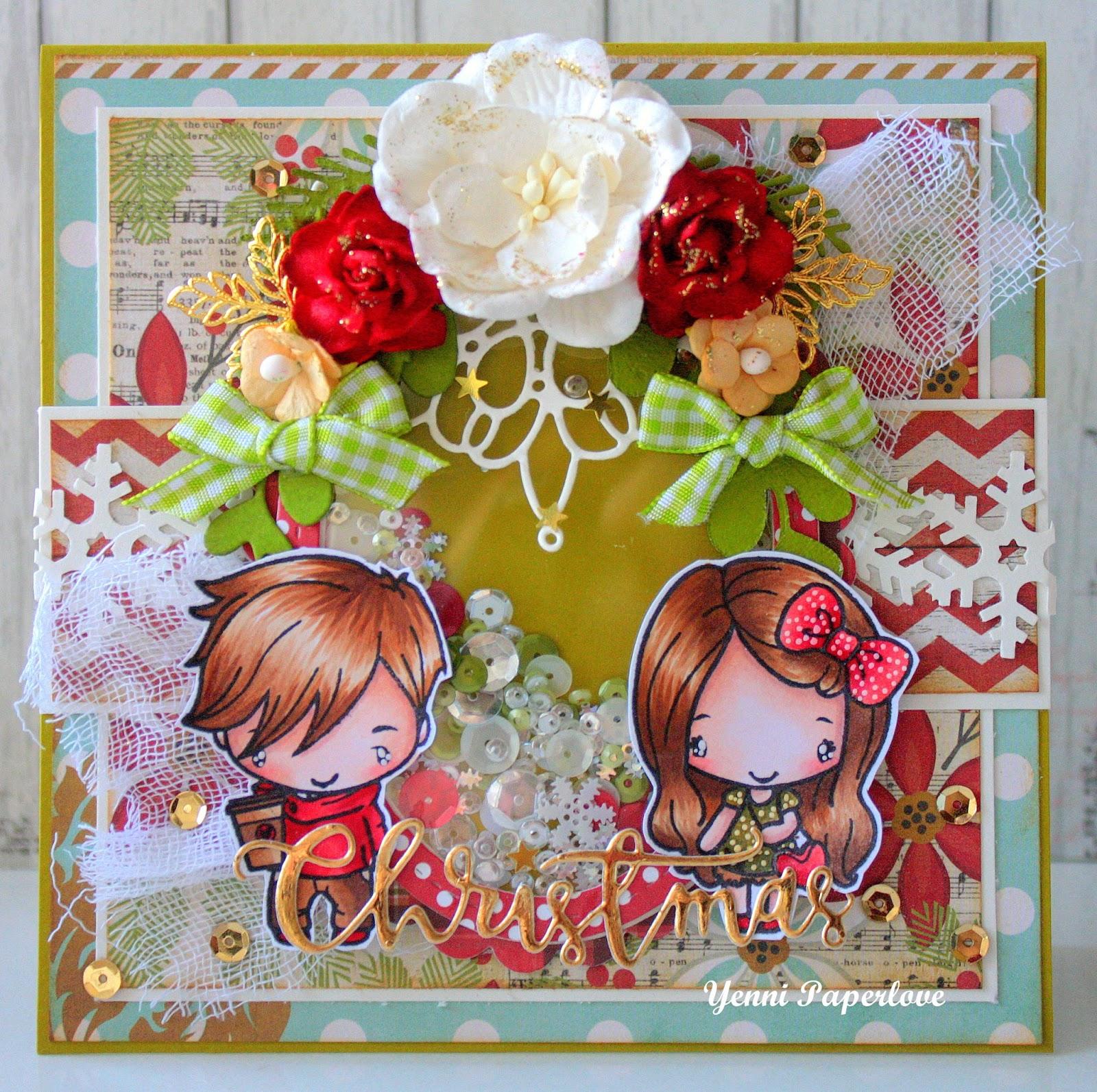 Yenni Paper Love : The Greeting Farm : Christmas Couple