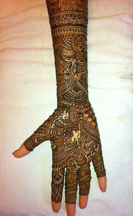 Best Bridal Mehndi Designs : Best and beautiful bridal mehndi designs for full hands