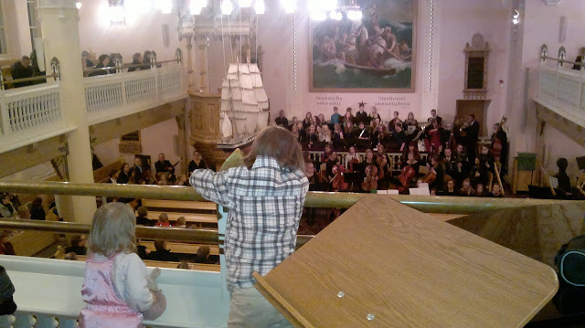 lapset kirkossa barokkikonsertti