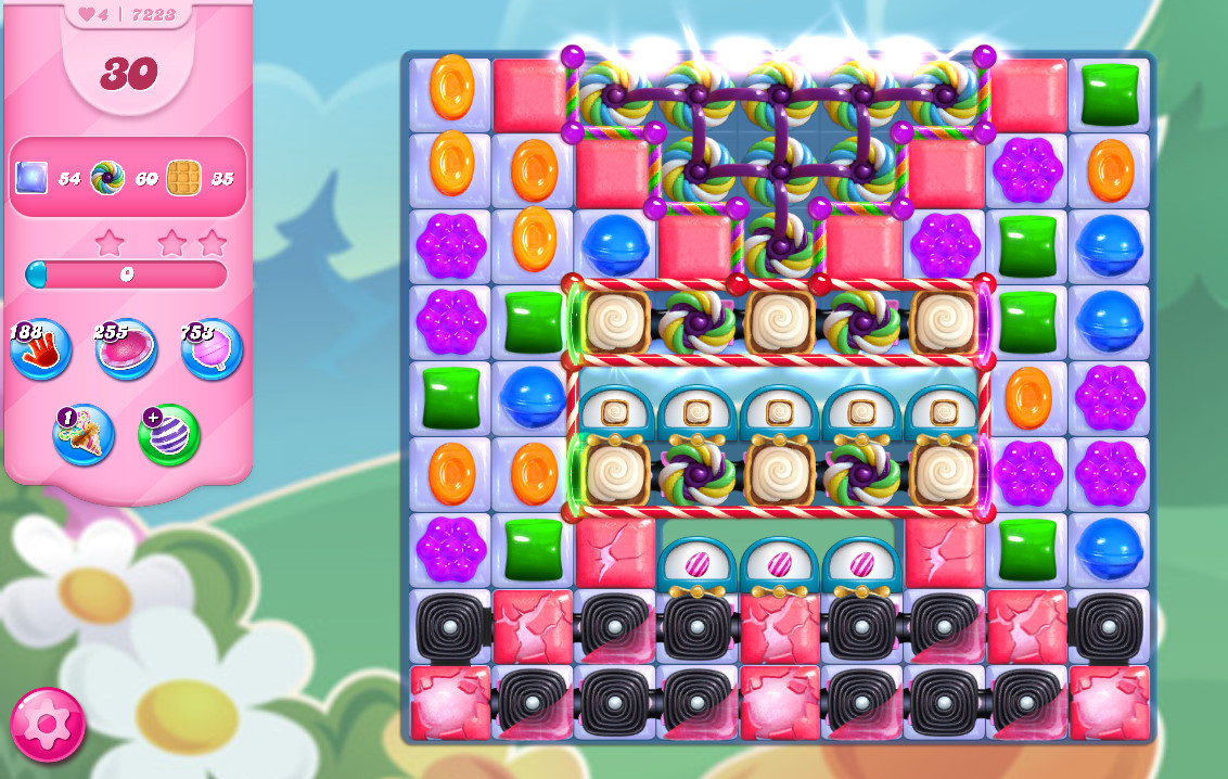 Candy Crush Saga level 7223