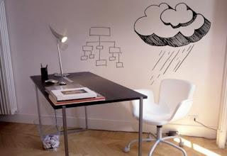 Trazo simple para decoración en el hogar u oficina
