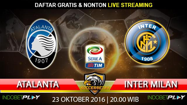 Prediksi Atalanta vs Inter Milan 23 Oktober 2016 (Liga Italia)