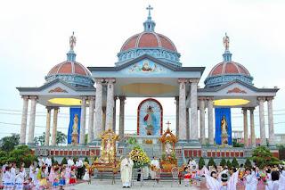 Gx. Đền thánh Kiên Lao – Ngàn hoa dâng Mẹ