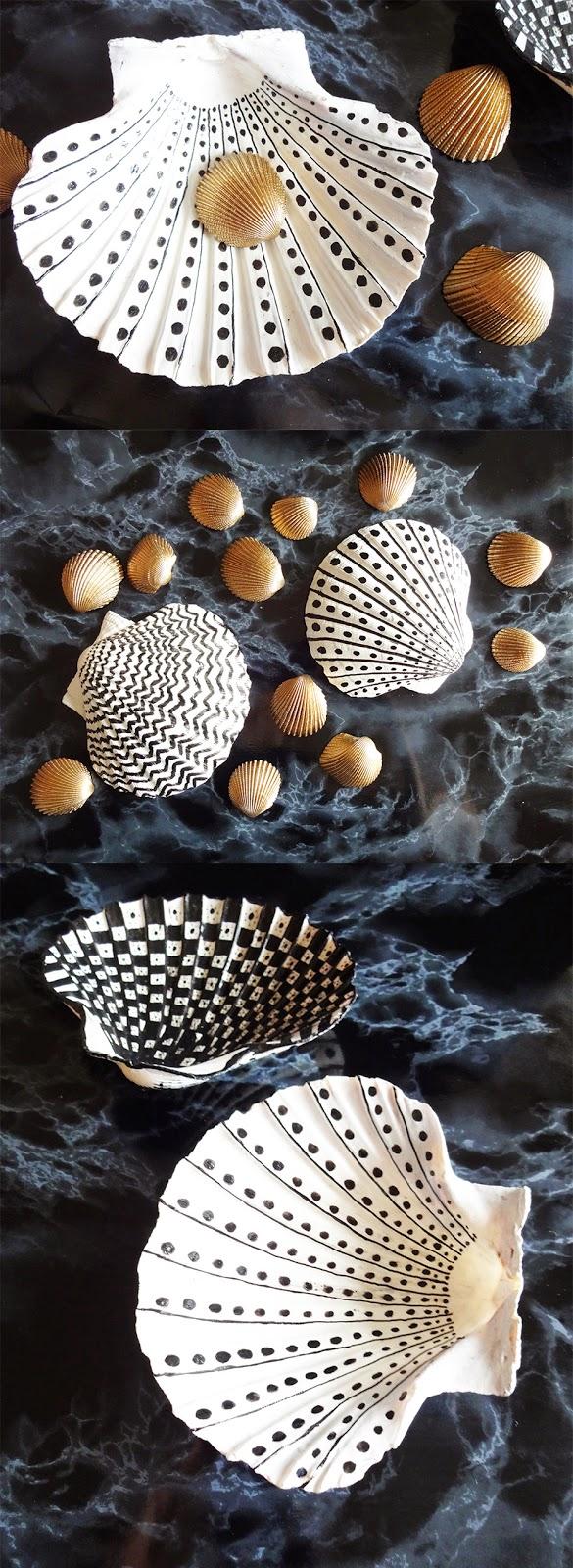basteln malen kuchen backen seifenschalen aus muscheln. Black Bedroom Furniture Sets. Home Design Ideas