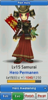 Samurai Evolution LostSaga Indonesia