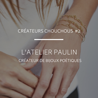 bracelets a message atelier paulin paris