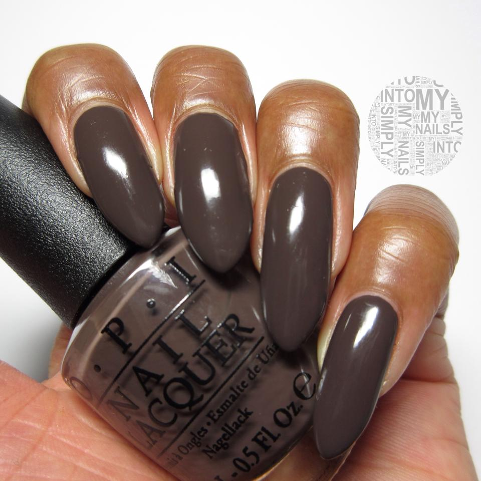 Mini Manicures ~ OPI How Great Is Your Dane? | Simply Into ...