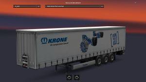 Krone Axle Trailer