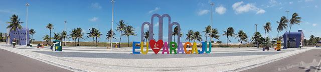 Eu amo Aracaju, Orla do Atalaia, Aracaju, Sergipe