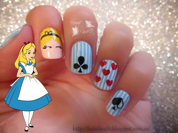 Alice-nail-art