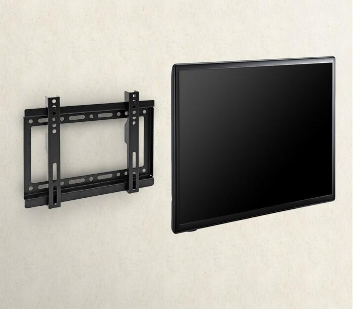 Supporto a parete tv fixed ficus vesa 200 23 42 nero omega ibay cina ingrosso cinese - Supporto tv da parete ...
