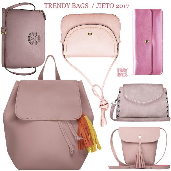 Женские сумки оптом розового цвета