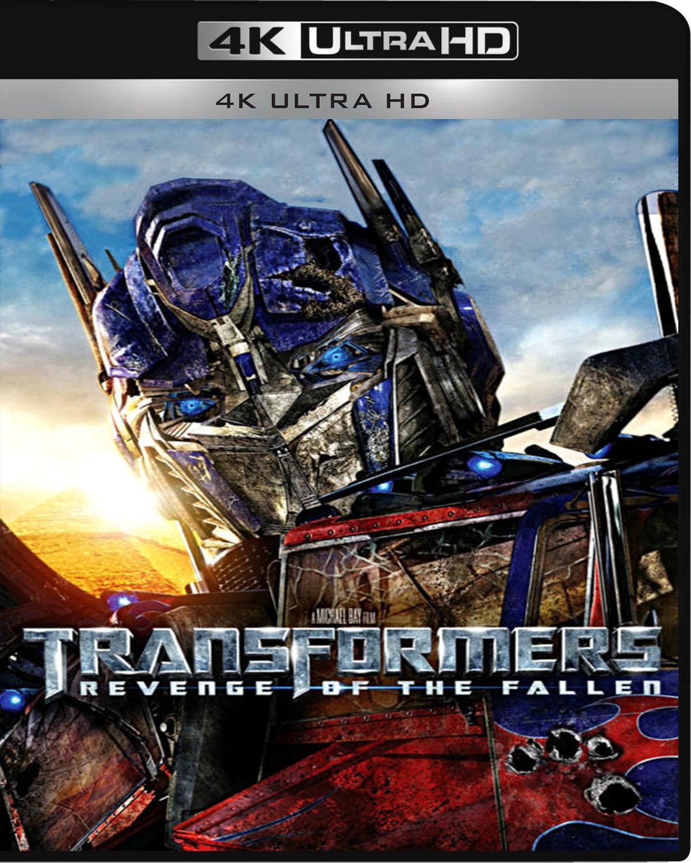 Transformers: Revenge of the Fallen [2009] [UHD] [2160p] [Español]