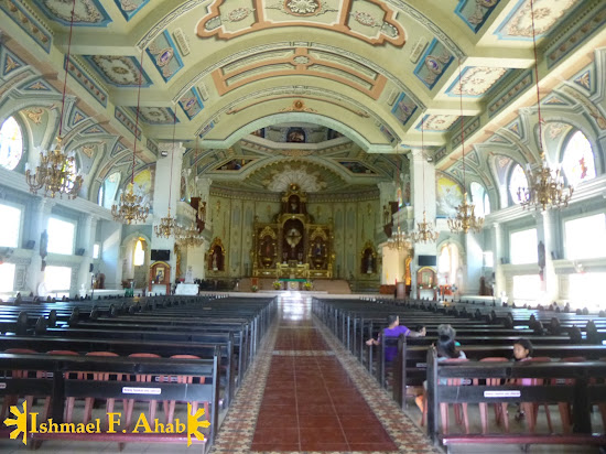 Aisle of Nasugbu Church