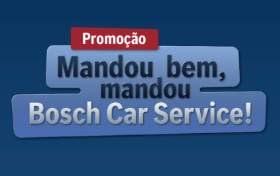 Cadastrar Promoção Mandou Bem Bosch Car Service - Prêmios, Participar