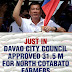 Mayor Duterte & Davao City Gives P31.5 Million Calamity Assistance to Cotabato Farmers