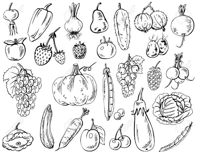 Gambar Mewarnai Sayuran - 6