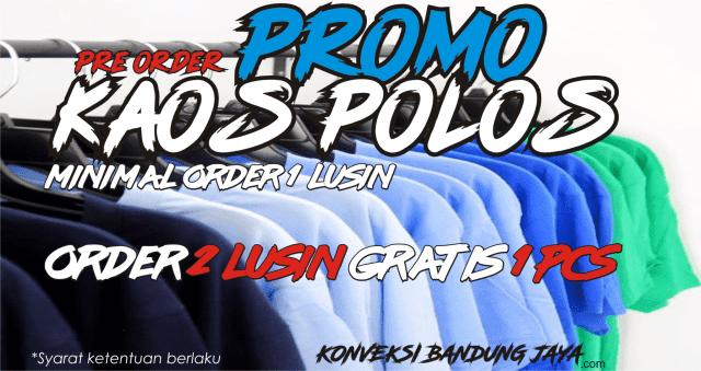 Gartis Baju Promo Kaos Polos di Konveksi Kaos Bandung