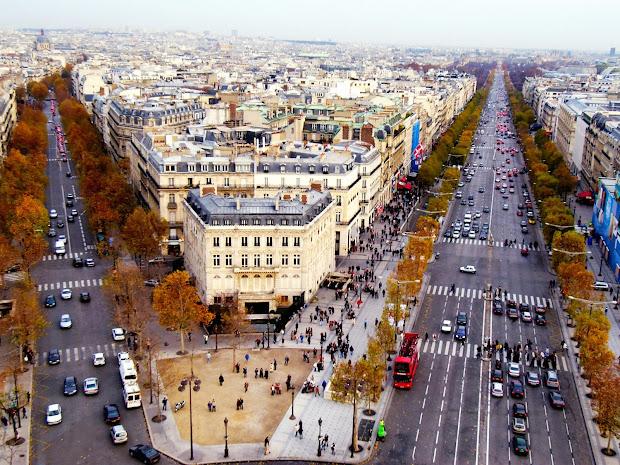 Champs- Elysees - Beautiful Place Visit In Paris