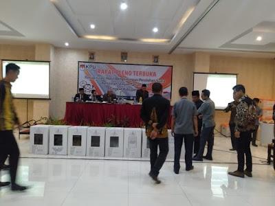 KPU Pringsewu Gelar Rapat Pleno Rekapitulasi Perolehan Suara Pemilu 2019
