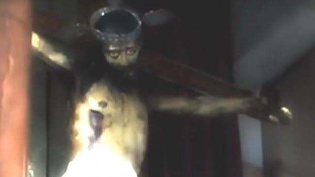 Imagen de Cristo abre los ojos