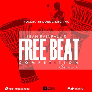 Free Beat: Sean Rainfall –Winner Freebeat Competition #WinnerFreebeatCompetition || @Ezie101