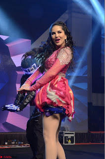 Sunny Leone Dancing on stage At Rogue Movie Audio Music Launch ~  043.JPG