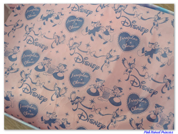 irregular choice disney cinderella tissue paper