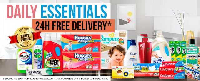 Ensogo Daily Essentials at Best Price, Ensogo malaysia, ensogo, Daily Essentials, Best Price, household cleaners, breakfast drinks, diapers, detergent, online shopping, cheapest diapers, ensogo mobile app,