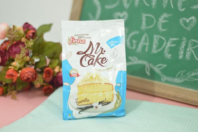 massa mistura bolo mr. cake Finna