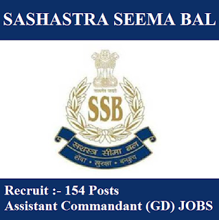 Directorate General, Sashastra Seem Bal, CAPFs, Ministry of Home Affairs, SSB, SSB Answer Key, Answer Key, ssb logo