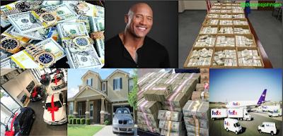 Dwayne Johnson Surprise Register Your Name Gift Money