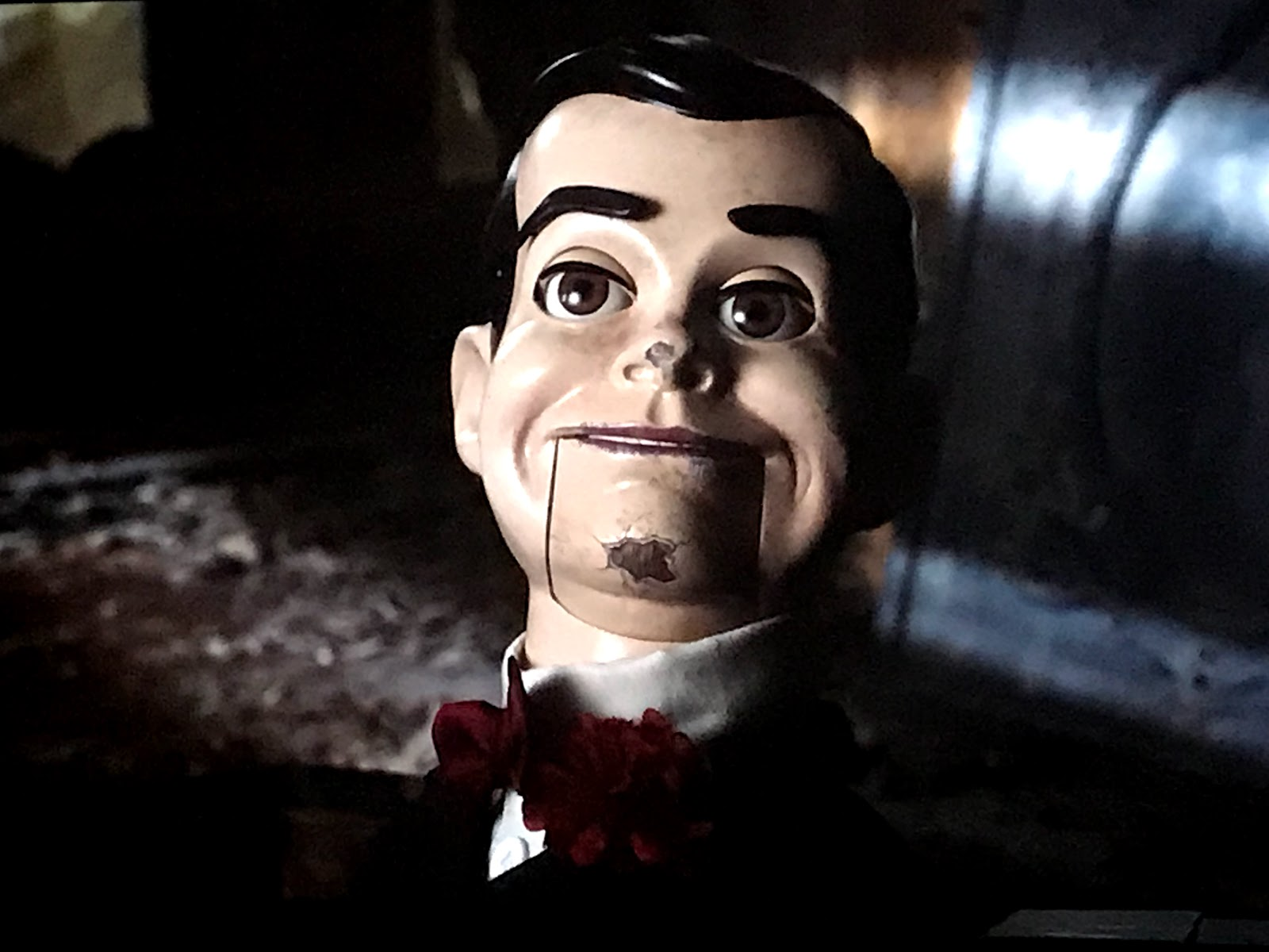 Image: Slappythe puppet  From The Movie Goose Bumps 2: Woman takes family to see the new goose bumps movie by R.L Stine for Halloween.: Weekend bits and favorites