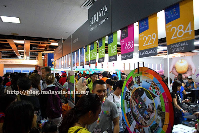 Berjaya Hotels and Resorts were seen pretty busy with their Matta Fair Promotions