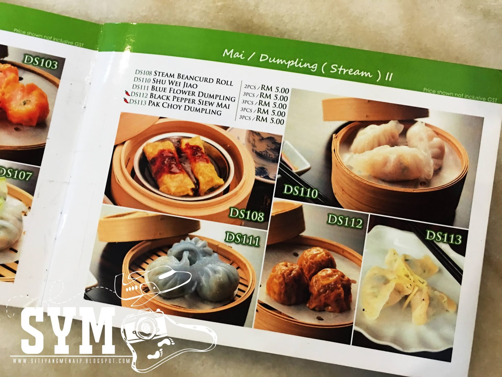 Hidangan Dimsum Halal Dan Sedap Di Greentown Ipoh Siti Yang Menaip
