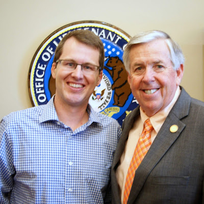 Mike Parson Becomes Mo. Governor