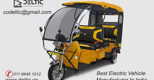 Best Electric vehicle manufacturer in India
