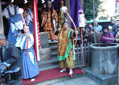 Obisha! (Lion Dance Festival) at Hiregasaki, Nagareyama City, Chiba Pref.