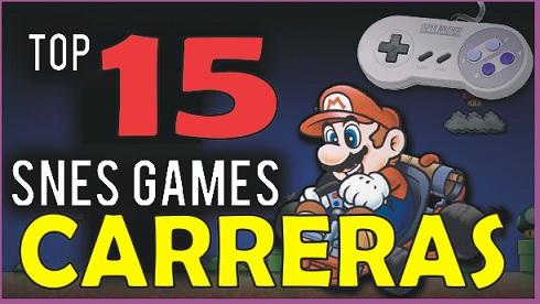 Top 15 Mejores Roms Carreras SNES - Super Nintendo