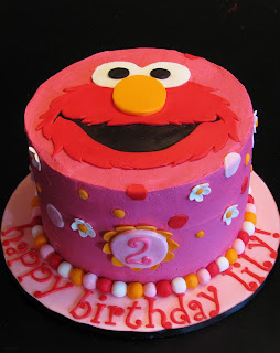 Bliss Cakes Of London Elmo In Pink