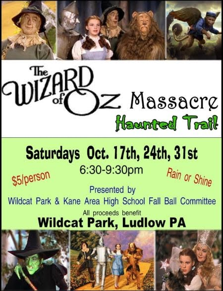 10-24/31 Haunted Trail At Wildcat Park