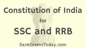 Constitution of India Quiz